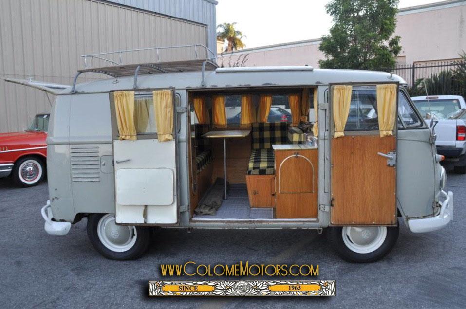 1960 Volkswagen So 23 Westfalia Camper Colome Motors